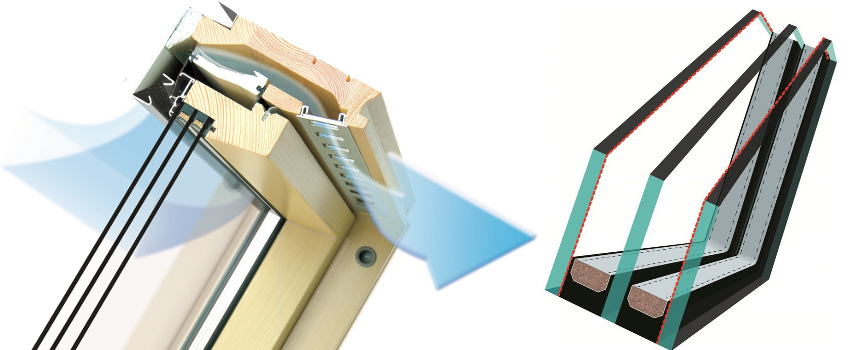 FAKRO FTP-V U4 - ventilačná klapka