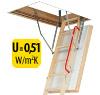 Termoizolačné podkrovné schody FAKRO LWT 305