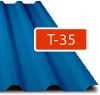 Trapézový plech Regamet T-35 / 0,5 - lesk